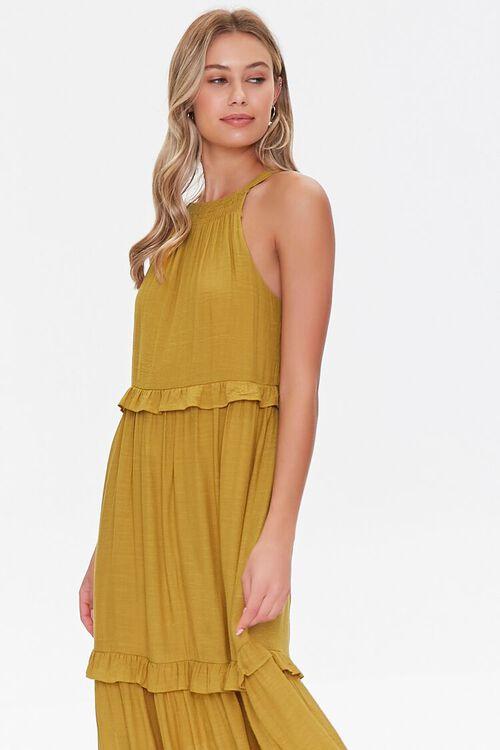 Tiered Halter Maxi Dress, image 4