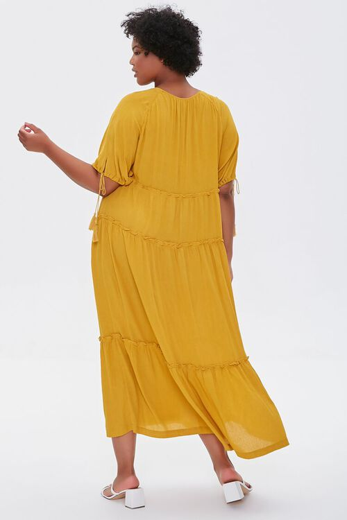 Plus Size Tiered Maxi Dress, image 3