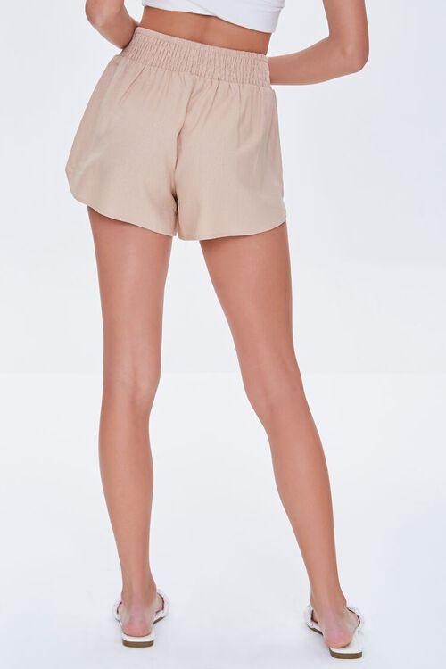 Smocked-Waist Shorts, image 4
