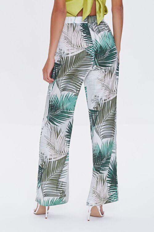 Tropical Print Wide-Leg Pants, image 4