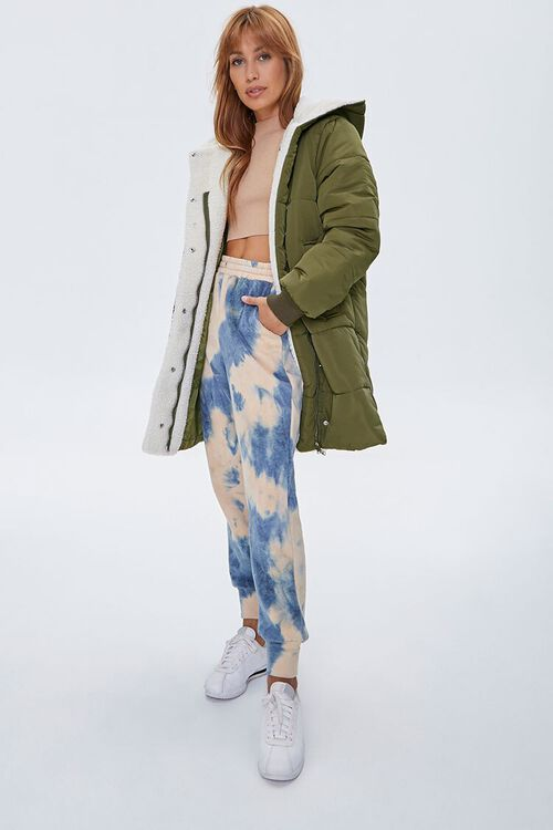 Faux Shearling-Lined Puffer Jacket, image 4