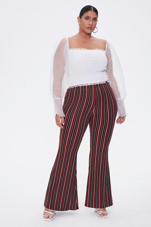 Plus Size Striped Jordyn Pants, image 1