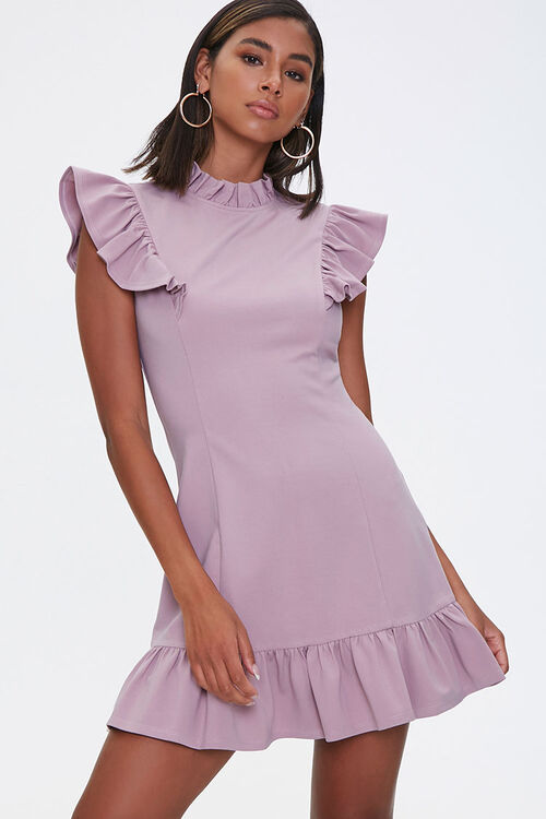 Flounce Bodycon Mini Dress, image 1