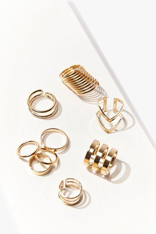 Assorted High-Polish Ring Set, image 1