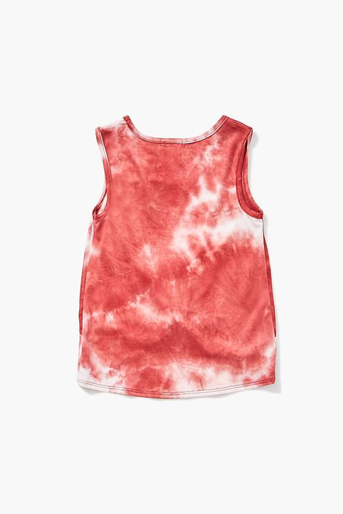 Girls Twisted Tie-Dye Tank Top (Kids), image 2