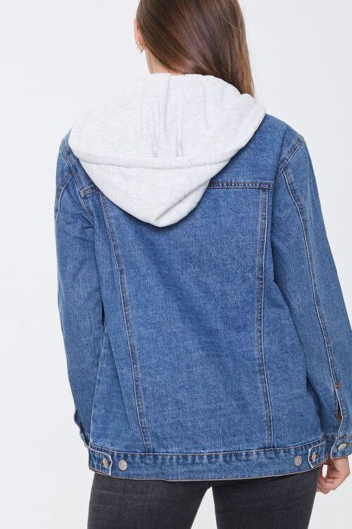 Hooded Denim Utility Jacket, image 3