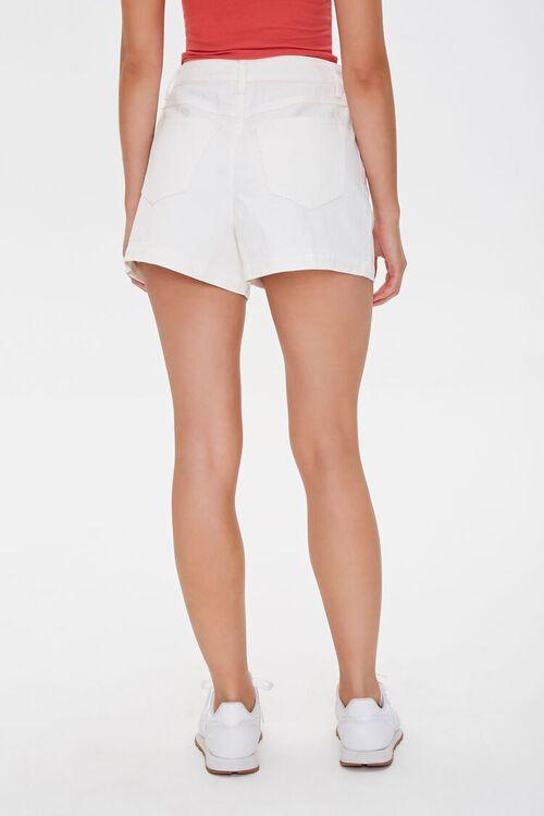 Pleated Denim Shorts, image 4