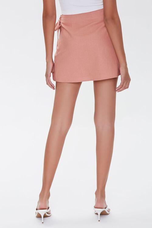 Tie-Waist Mini Skirt, image 4