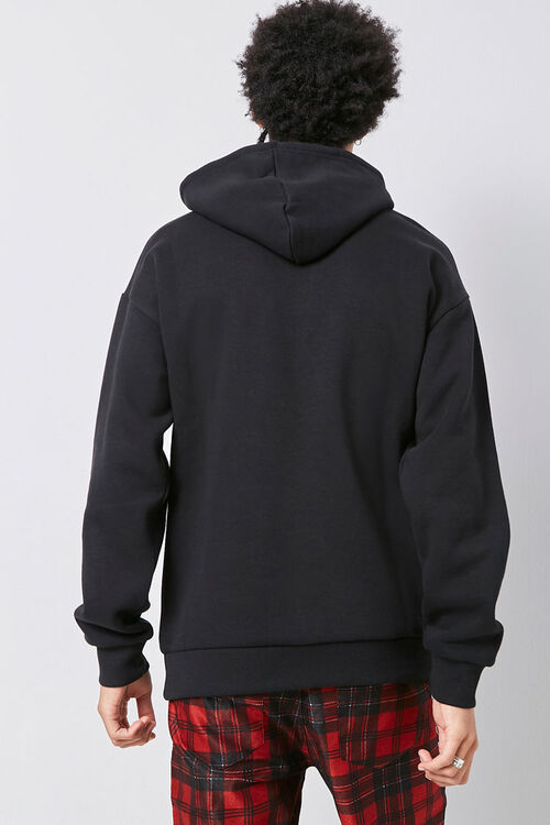 Embroidered Youth Rose Graphic Hoodie, image 3