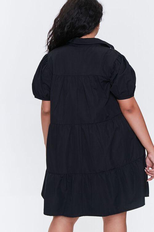 Plus Size Tiered Mini Dress, image 3