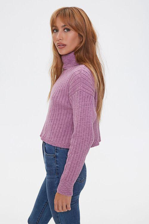 LILAC Ribbed Turtleneck Sweater, image 2