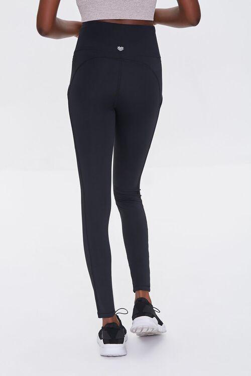 BLACK Active High-Rise Leggings, image 4