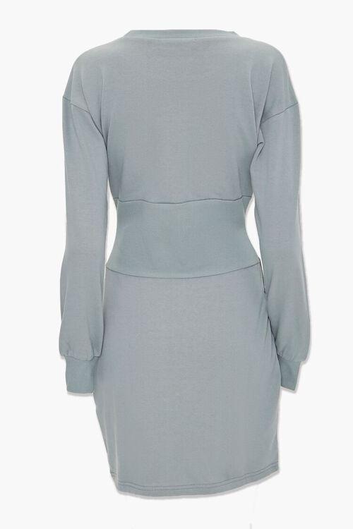 SAGE Fleece Knit Mini Dress, image 3
