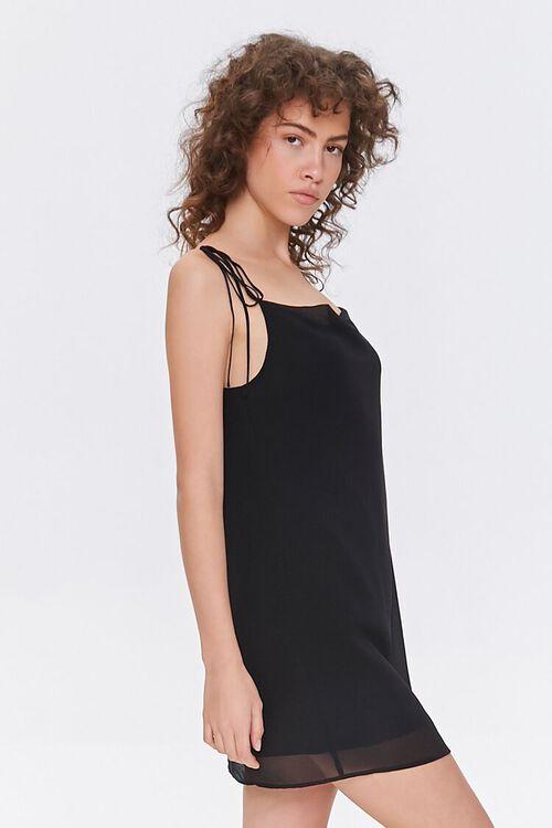 Chiffon Cowl Mini Dress, image 2