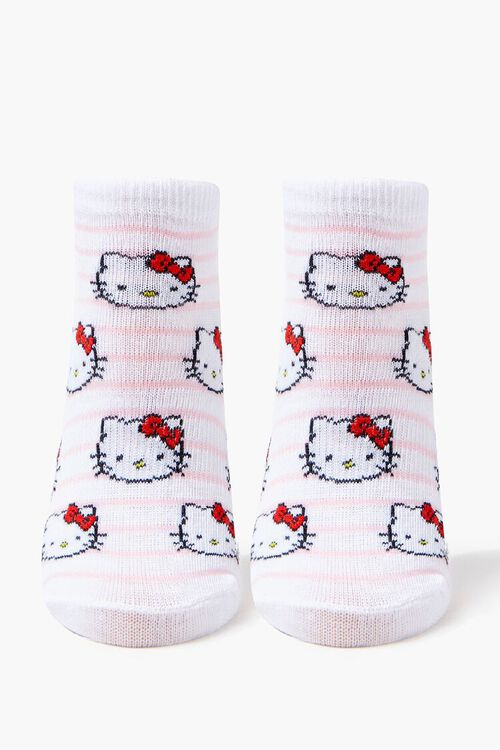 Girls Hello Kitty Ankle Socks (Kids), image 2