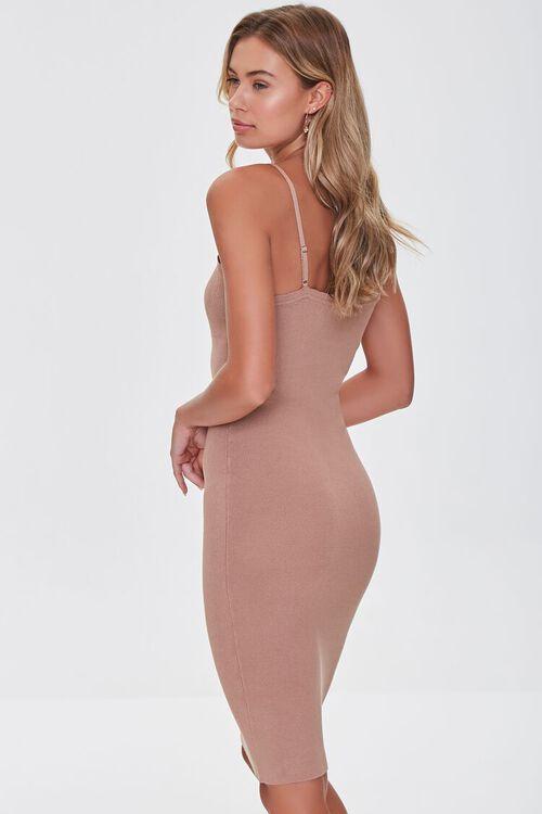 Lace-Trim Bodycon Dress, image 2