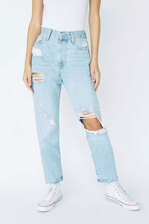 Distressed Mom Jeans, image 2