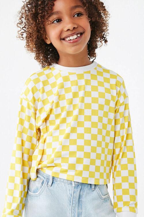 Girls Checkered Tee (Kids), image 5