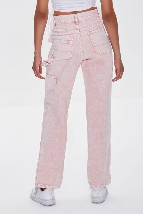 Acid Wash Cargo Jeans, image 3