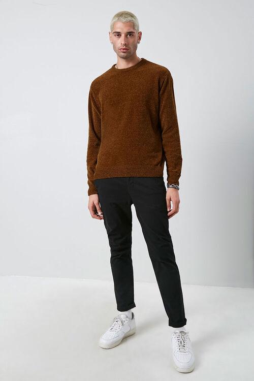 Chenille Crew Neck Sweater, image 4