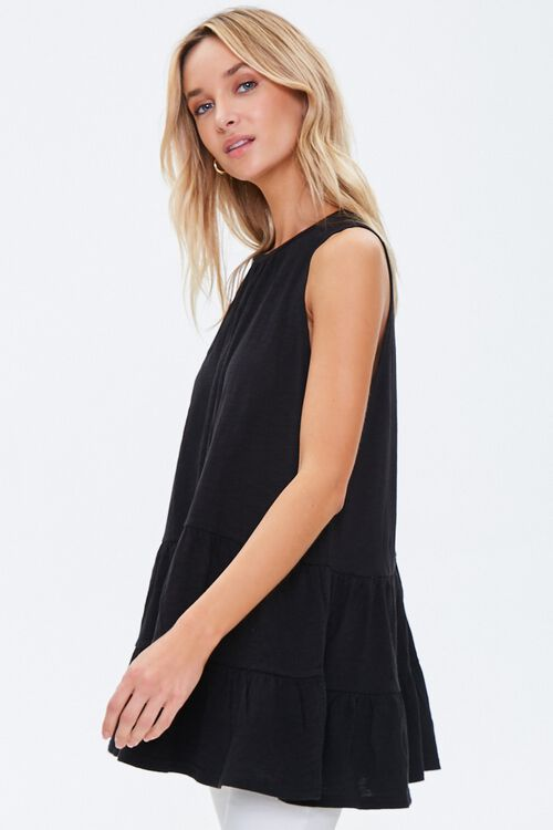 Sleeveless Slub Knit Tunic, image 2