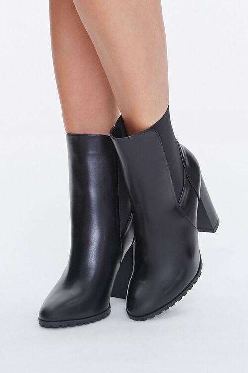 Block Heel Chelsea Boots, image 1