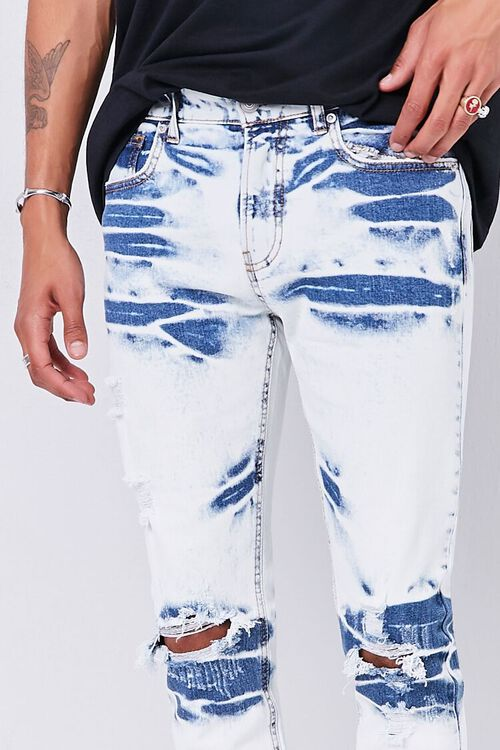 Bleached Slim-Fit Jeans, image 5