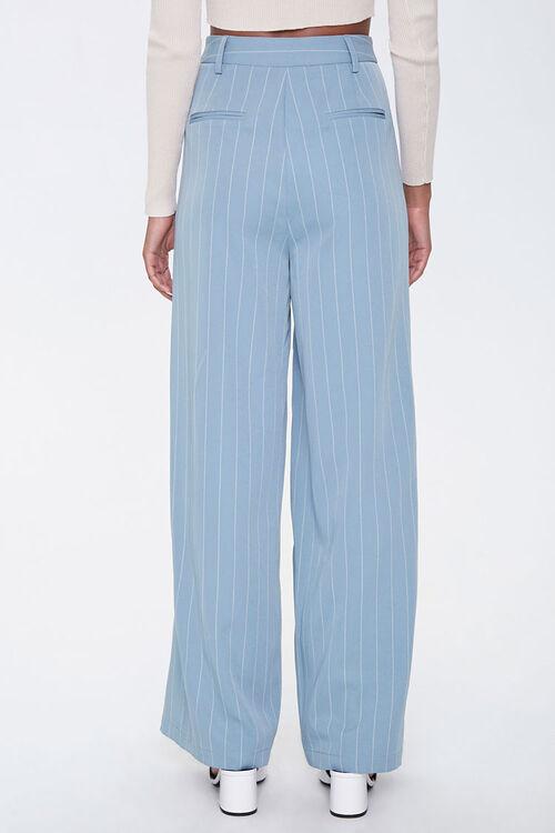 Pinstriped Wide-Leg Pants, image 4