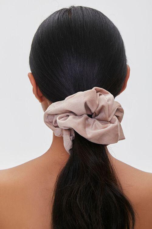 Ribbed Oversized Scrunchie, image 1
