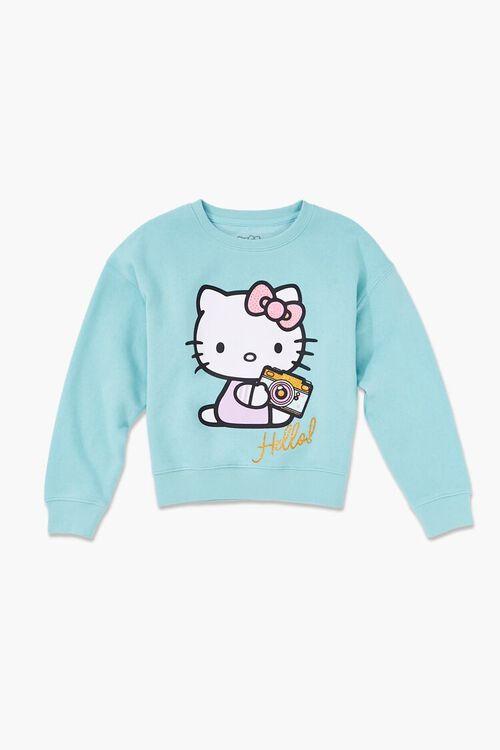 Girls Hello Kitty Graphic Sweatshirt (Kids), image 1