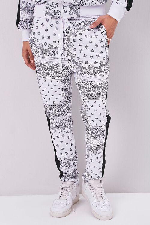 Bandana Print Drawstring Pants, image 2