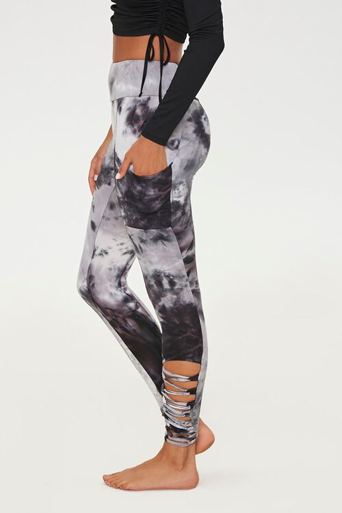 Caged Tie-Dye Leggings, image 2