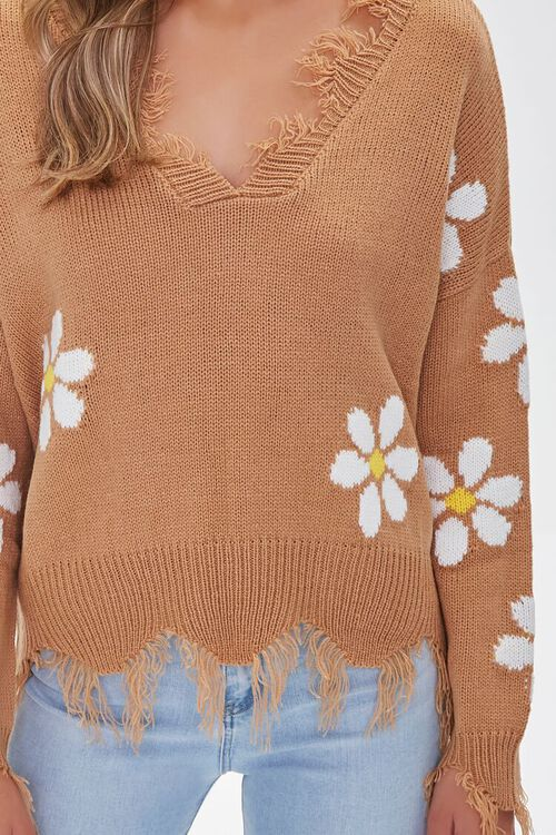 Distressed Daisy Sweater, image 5