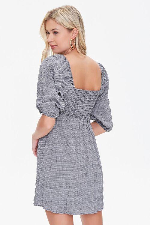 BLACK Cutout Bow Mini Dress, image 3