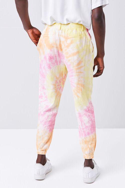 Tie-Dye Linen-Blend Joggers, image 4
