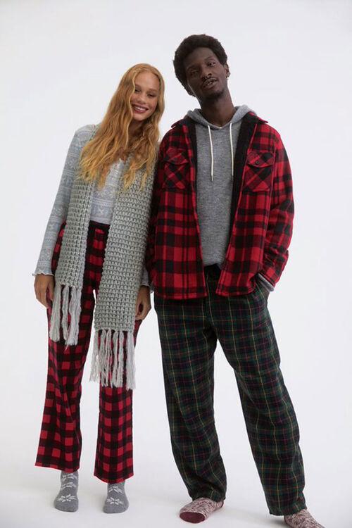 Plaid Pajama Pants, image 1