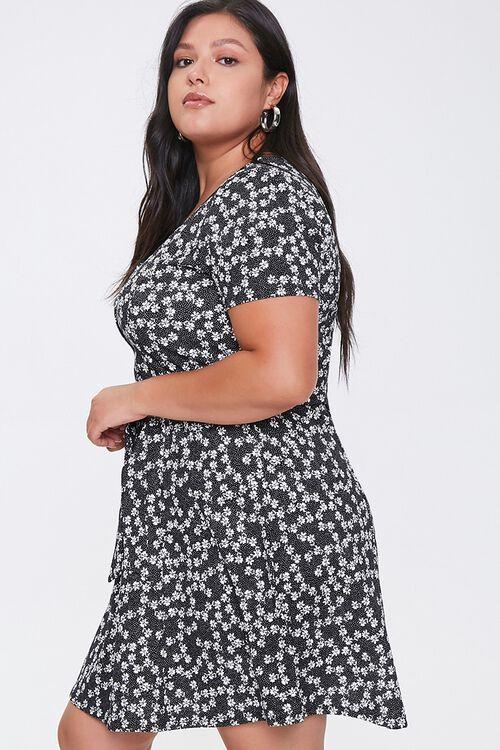 Plus Size Floral Fit & Flare Dress, image 2