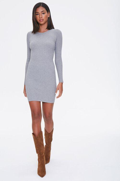 Sweater-Knit Mini Dress, image 4