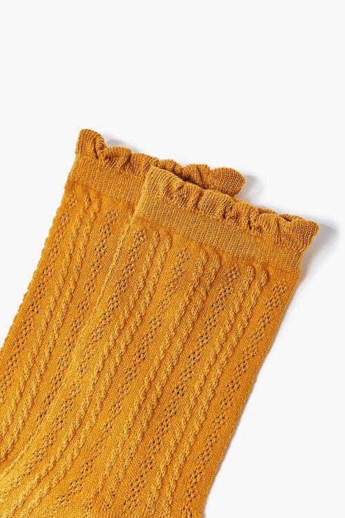 Scalloped Crew Socks, image 3