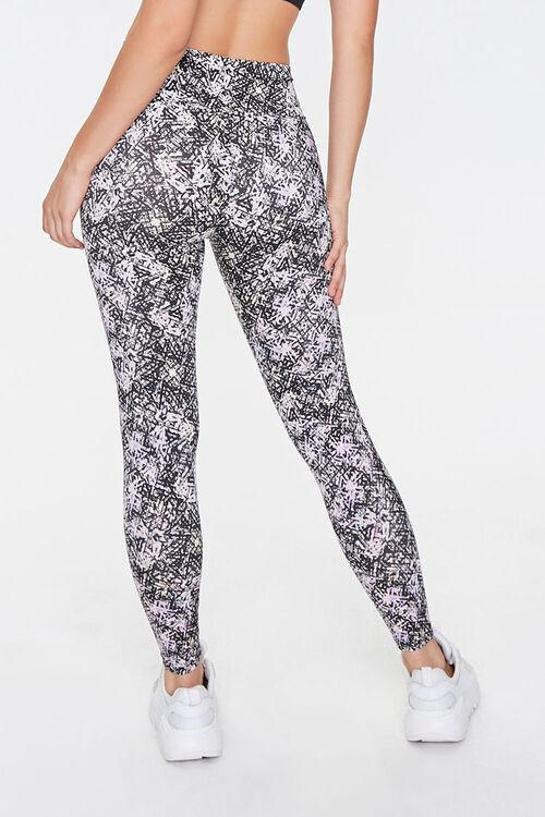Active Abstract Print Leggings, image 3