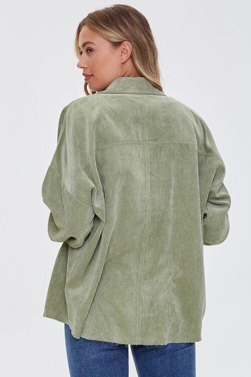 Corduroy Drop-Sleeve Shirt, image 3