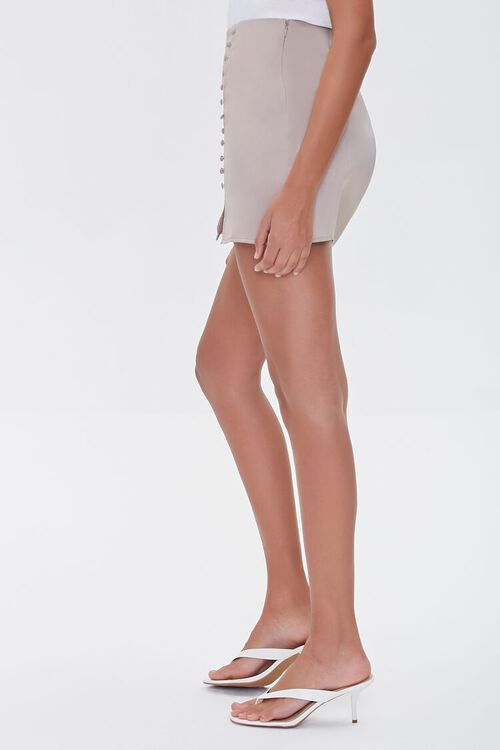 Button-Front Mini Skirt, image 3