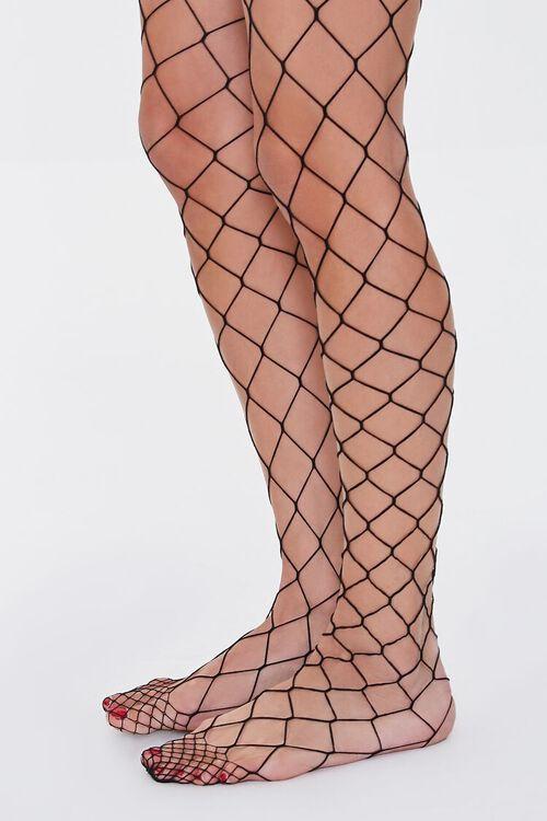 Oversized Fishnet Tights, image 2
