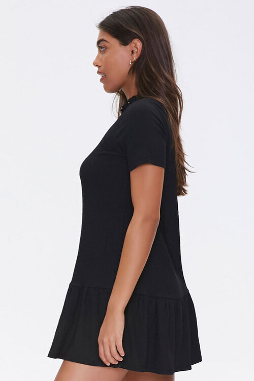 Ruffle-Trim Shift Dress, image 2