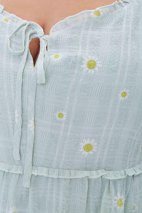 Plus Size Floral Mini Dress, image 5