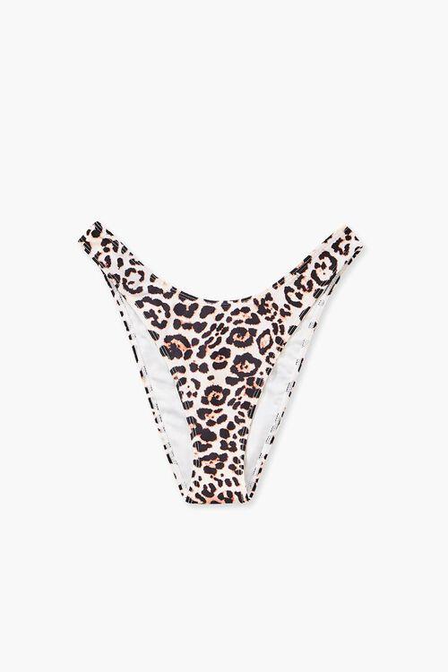 Leopard High-Leg Bikini Bottoms, image 5