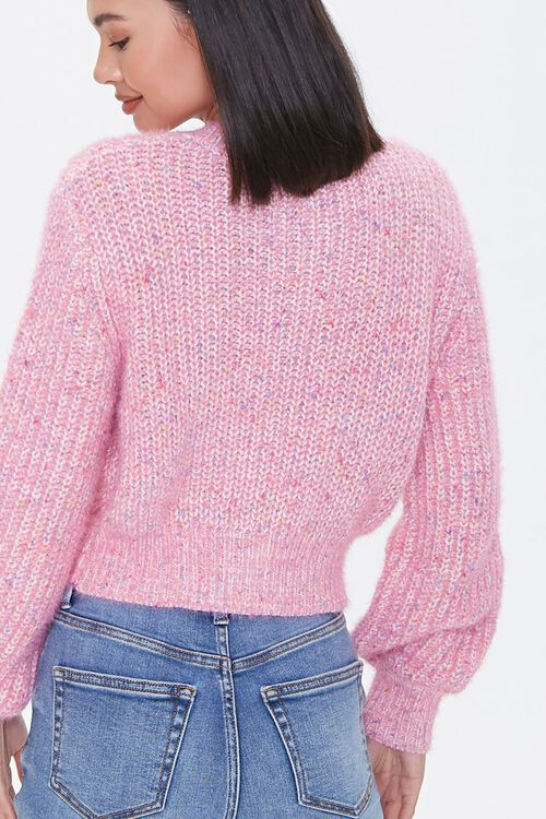 Marled Cardigan Sweater, image 3