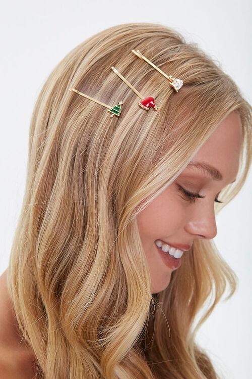 Christmas Bobby Pin Set, image 1
