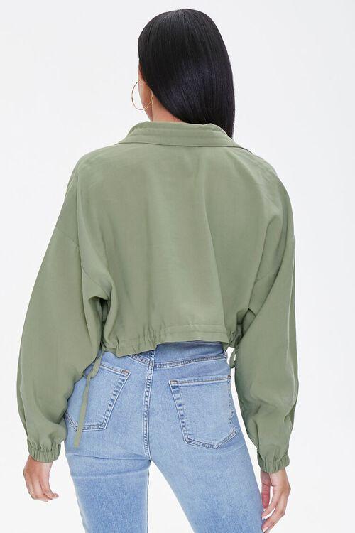 Zippered Drawstring Jacket, image 3