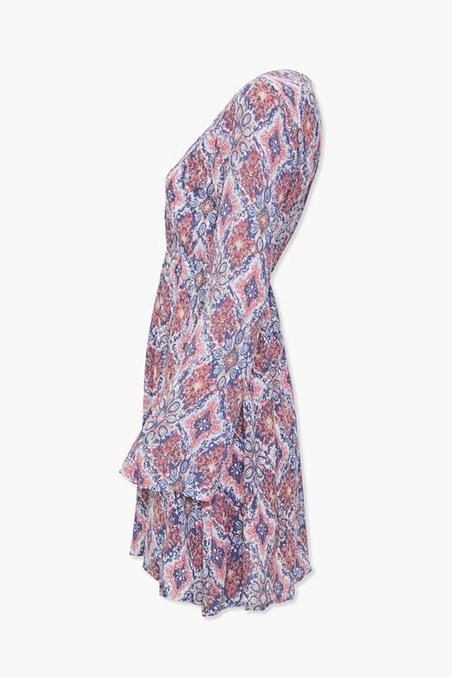 Geo Print Mini Dress, image 2